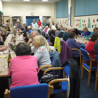 Photograph of Christmas Lunch event 2016