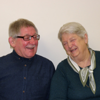 Photograph of Jean and Peter