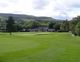 Photograph of Sickleholme Golf Course and clubhouse