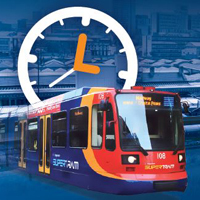 Picture of supertram leaflet