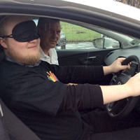 Blind Driving Event