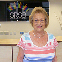 Photograph of Josie at SRSB