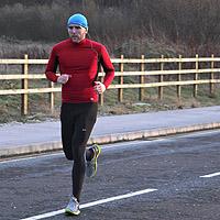 Photograph of Simon running
