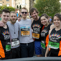 Photograph of previous SRSB runners